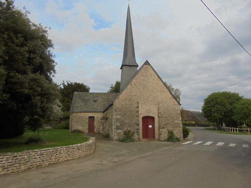 Eglise de Champfrémont, le camp de base